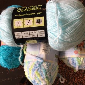 Other - 5 assorted knitting yarn